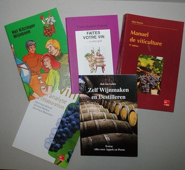 Boeken wijnmaken