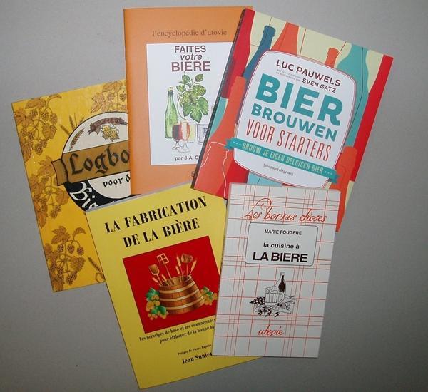 Boeken bierbrouwen