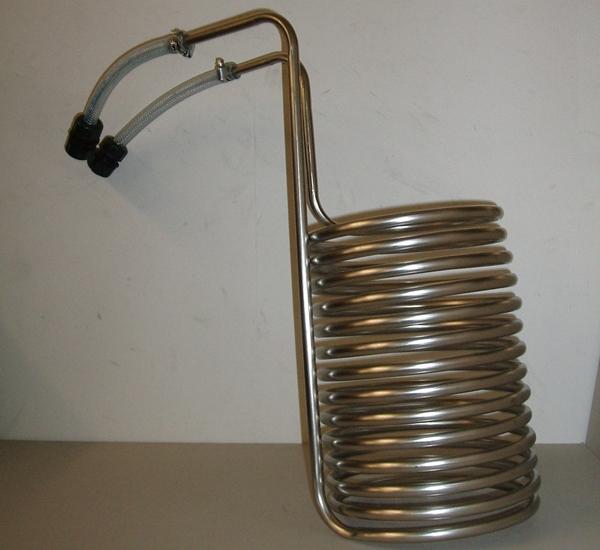 Wortkoeler voor ketel 20L Speidel