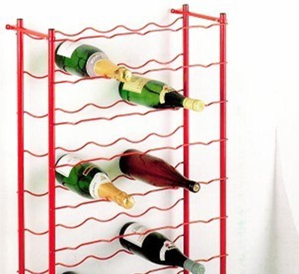 Wijnrek 100 flessen 100 x 100 x 23
