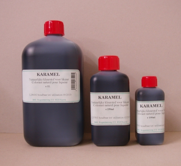 Voedingskleurstof caramel 1L