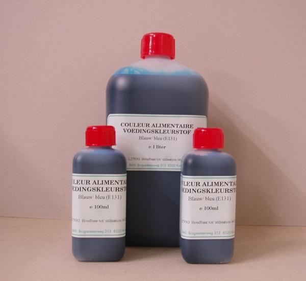 Voedingskleurstof blauw 1L