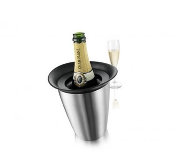 Vacu vin Rapid ice prestige champagnefles inox