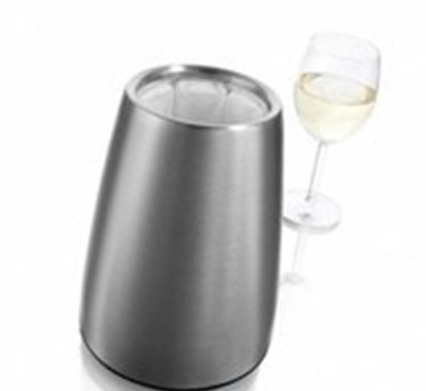 Vacu vin Rapid ice voor wijnfles inox