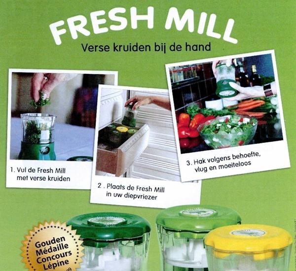 Kruidenmolen Freshmill lichtgroen.