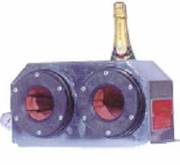 Capsuleerapparaat voor aluminium  champagnecapsules pneumati