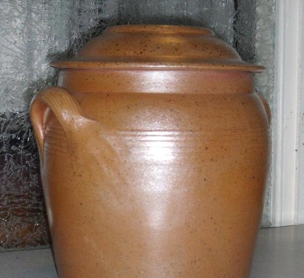 Inmaakpot 7 liter met deksel