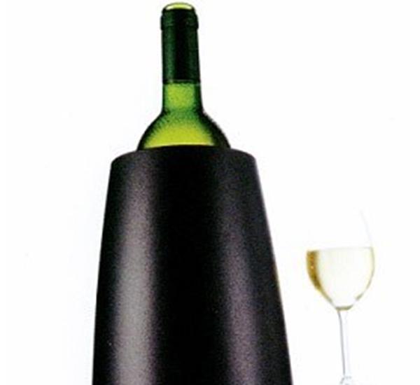 Vacu vin Rapid ice prestige wijnkoeler zwart