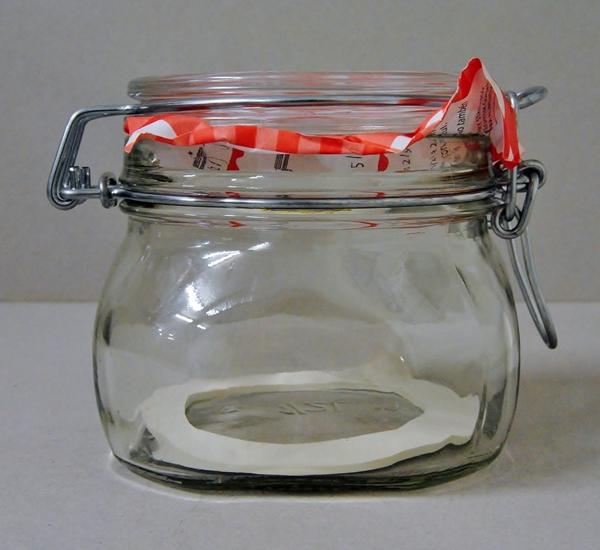 Steriliseerbokaal 0,5 liter