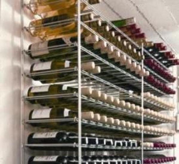 Wijnrek aanbouw 120fl 1200 x 1050 x 300 mm