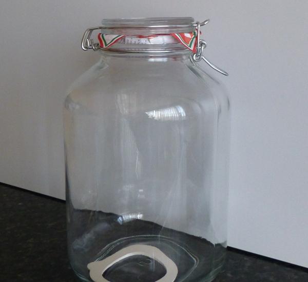Steriliseerbokaal 5 liter