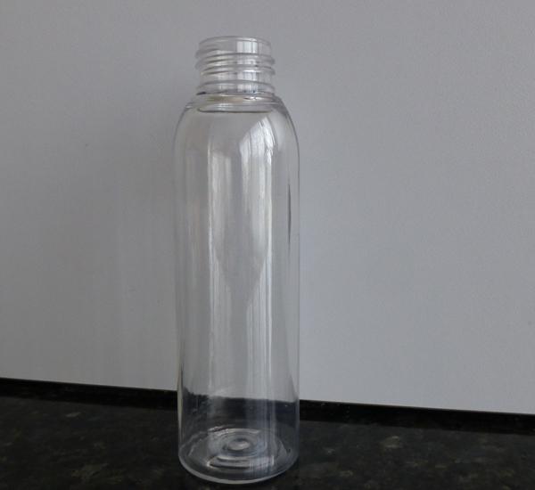 Fles pet Cristal 100ml rond hoog zonder dop (24mm)