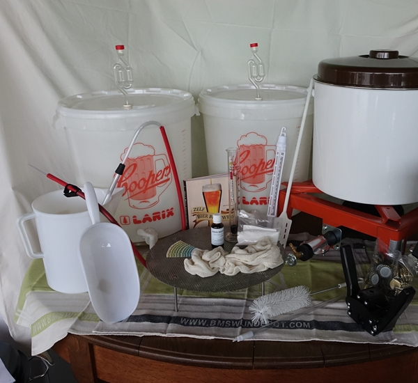 Startset bierbrouwen extra gas