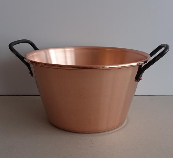 Confituurkookpot 26,5cm 4L koper