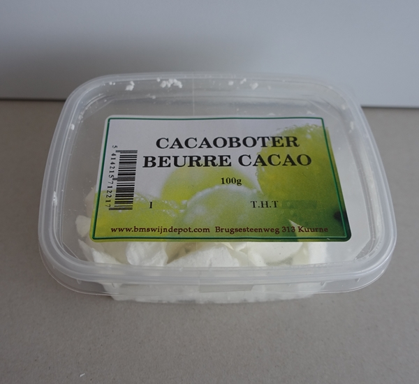 Cacaoboter 100g.