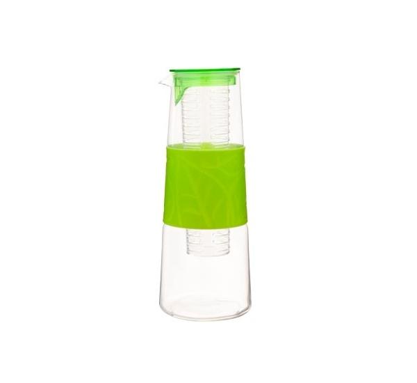 Waterfles 1L met buis voor infusie