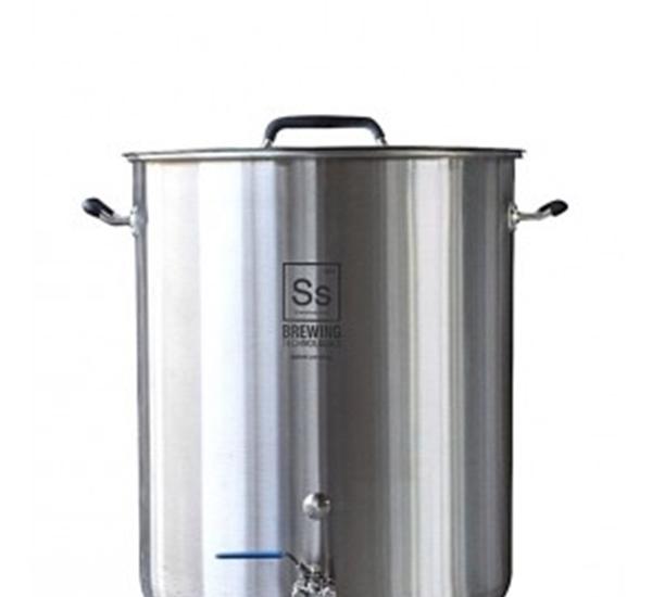 SS brewing kettles