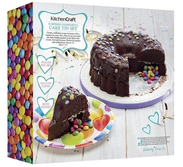 Dubbele cake vorm KC surprise 28cm
