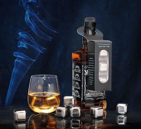 Whiskystenen titanium spirit 3st