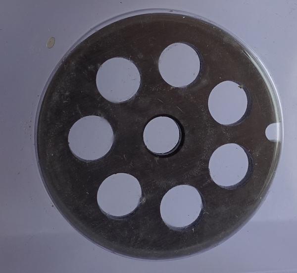 Maalschijf 10mm voor de elektrische vleesmolen