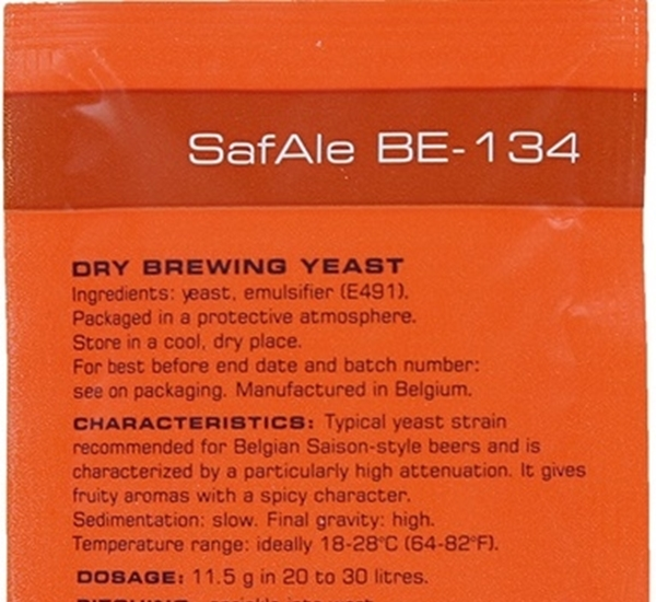 Biergist Safale BE-134 11,5g