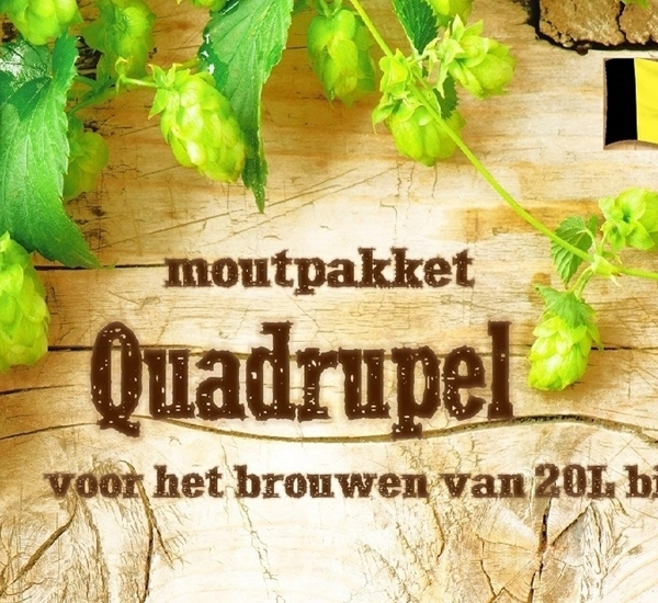 Moutpakket Quadrupel