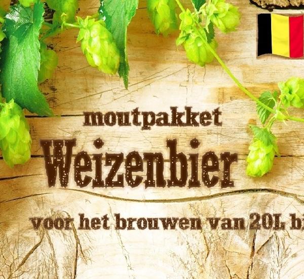 Moutpakket Weizenbier