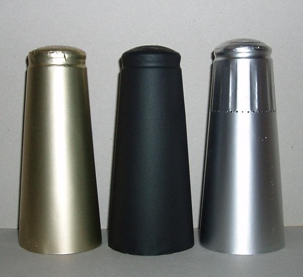 Aluminium capsules