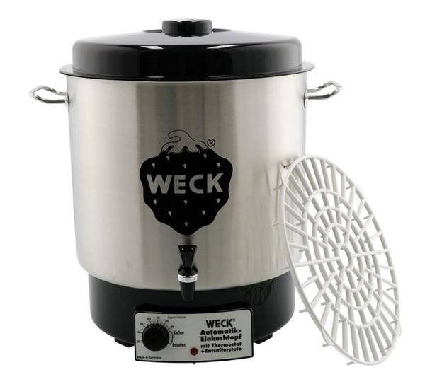 Weck W24A elec., thermostaat en kraan