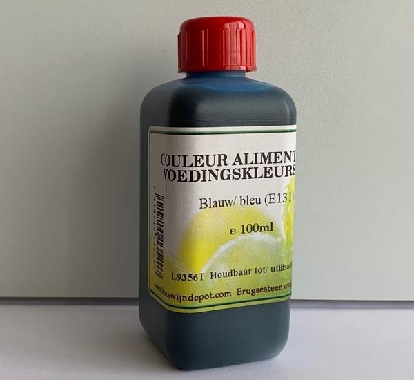 Voedingskleurstof blauw 100ml