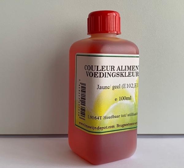 Voedingskleurstof geel 100ml