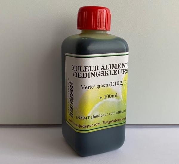 Voedingskleurstof groen 100ml