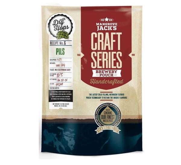 MJ Craft Series Pils met dry hops 2,5kg