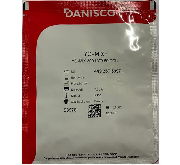 Danisco Yo-Mix 300 LYO 50 DCU