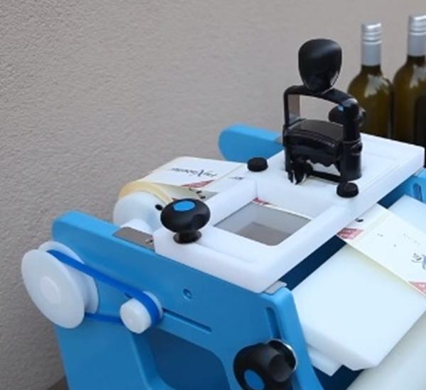 Stempel kit voor etiketeerapparaat