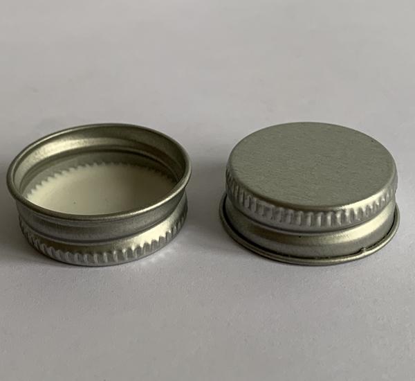 Schroefdop 28-400 zilver pasteurisatie 1st