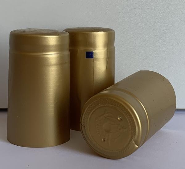 Krimpcapsules goud 1.000st