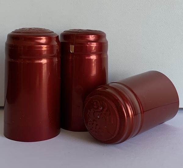 Krimpcapsules rood blinkend 100st