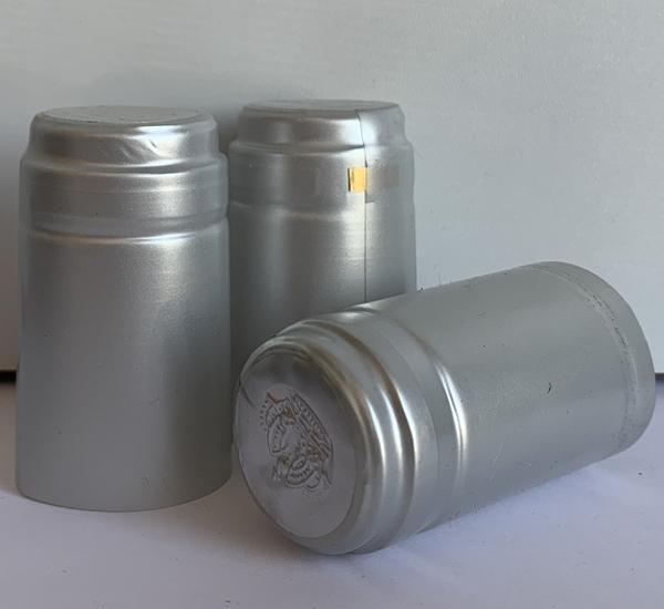 Krimpcapsules zilver 100st