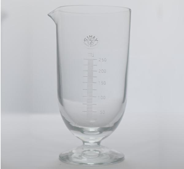 Maatglas klokvorm 250ml