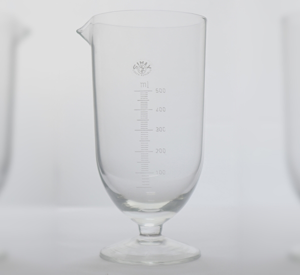 Maatglas klokvorm 500ml