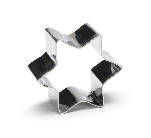 Uitduwvorm ster 4cm