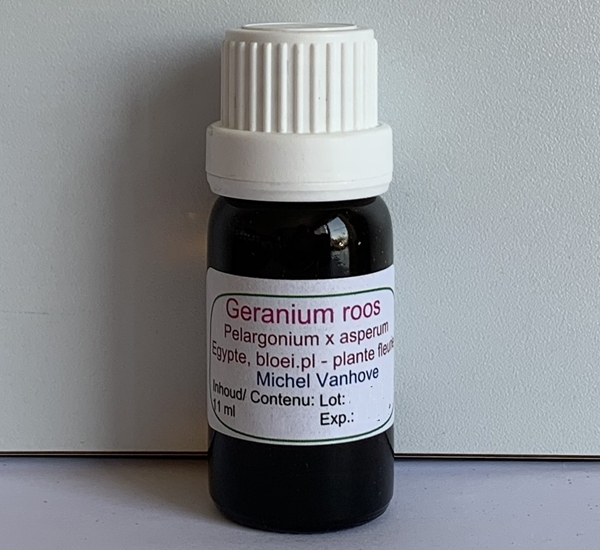 Geranium roos etherische olie 11ml