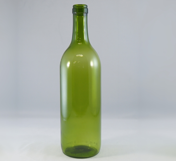 Bordeauxfles 75cl groen