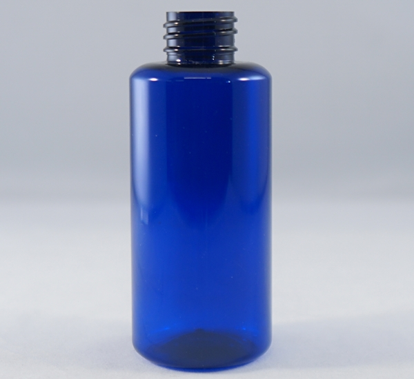 Fles pet blauw 200ml (28mm)
