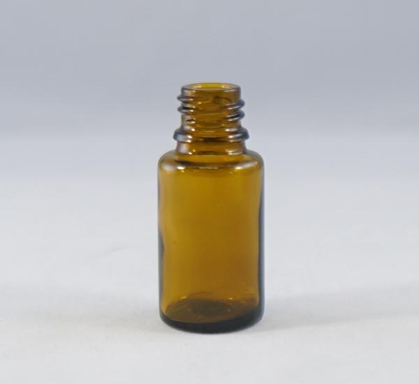 Fles 15ml bruin glas zonder dop (16mm)