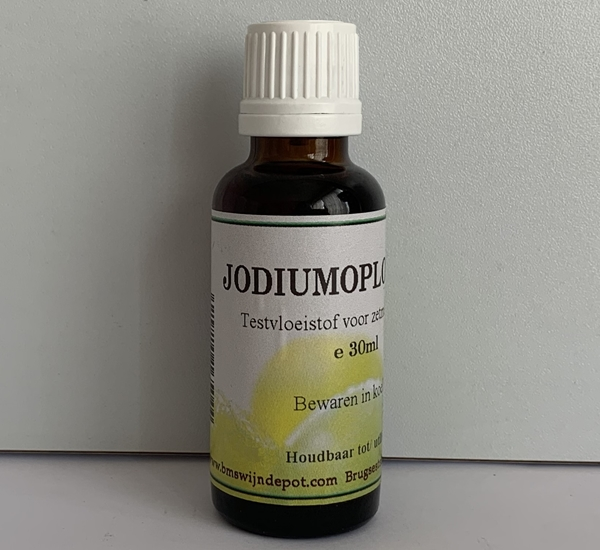 Jodiumoplossing 30ml (zetmeel)
