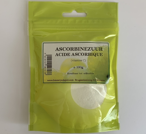 Ascorbinezuur (vit C.) 100g