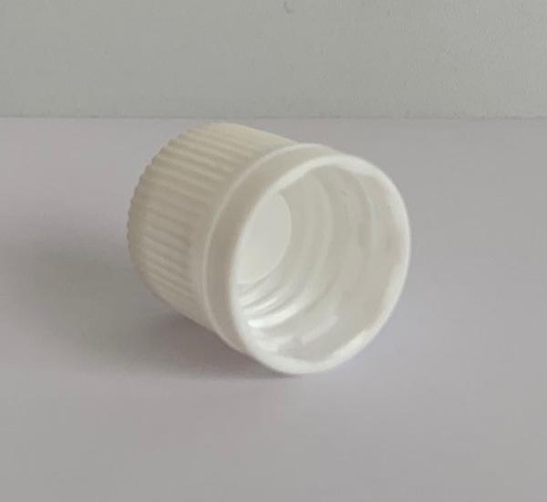 Witte verzegelbare dop 16mm