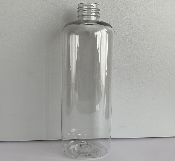 Fles pet Cristal 250ml ovaal zonder dop (24mm)